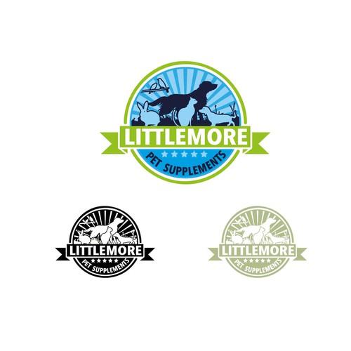 pet food supplement logo/stamp