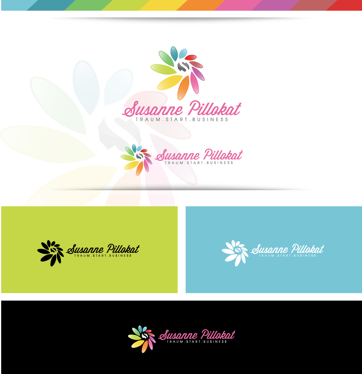Smashing logo that inspires women to turn their dreams & passion into a business & life they love