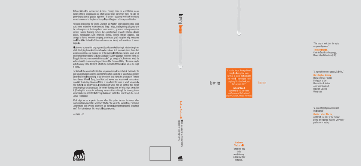 """""""Leaving Home"""" book cover: Revisions"""