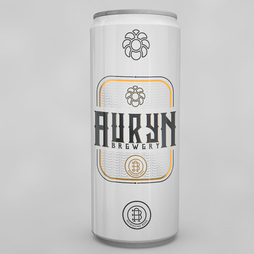 Logo for beer company