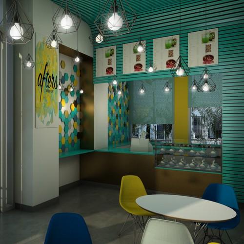 concept pour un restaurant