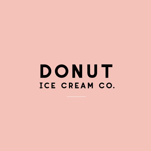 Ice Cream Co Logo Design