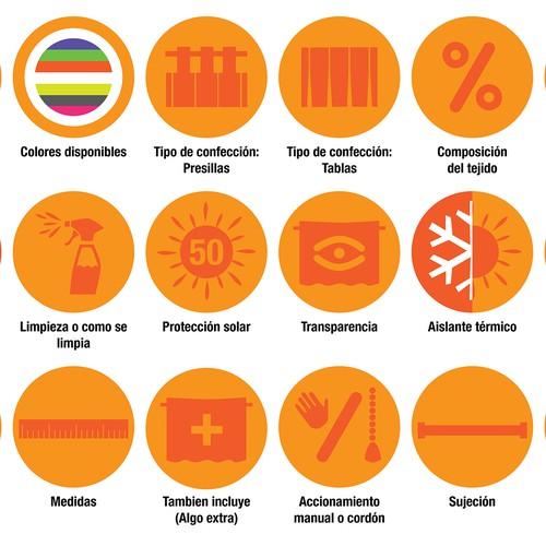 Iconos de características