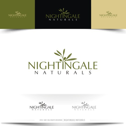 Help Nightingale Naturals with a new logo