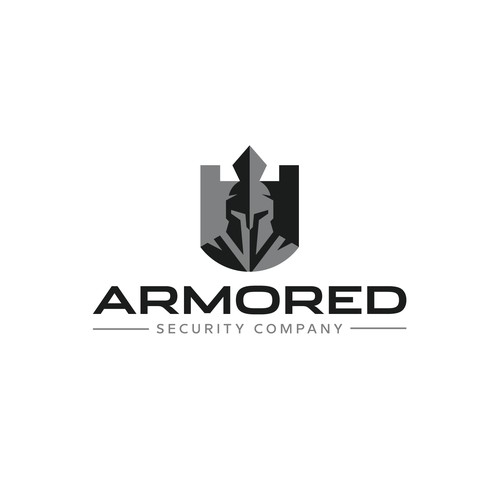 Armored Security Company Logo