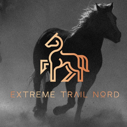 Logo and website design for Extreme Trail Nord