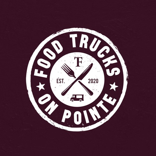 Logotipo FOOD TRUCKS ON POINTE