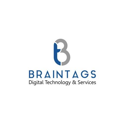 Logo concept for Braintags