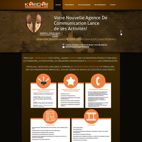 <<< KORIDOR - AGENCE DE COMMUNICATION >>>