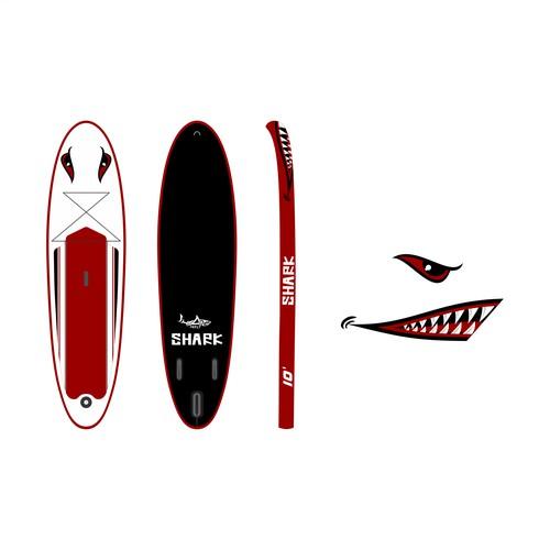 Shark Paddle Board