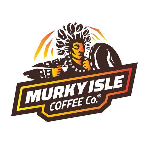 Logo for Murky Isle Coffee Co