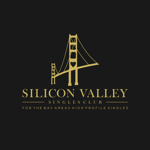 unique dating logo for silicon valley