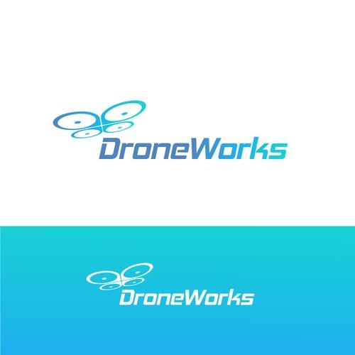 Logo design Drone