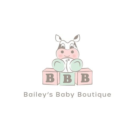 Baby clothing company logo