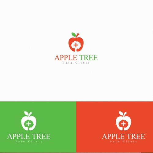 Create a logo for Apple Tree Pain Clinic