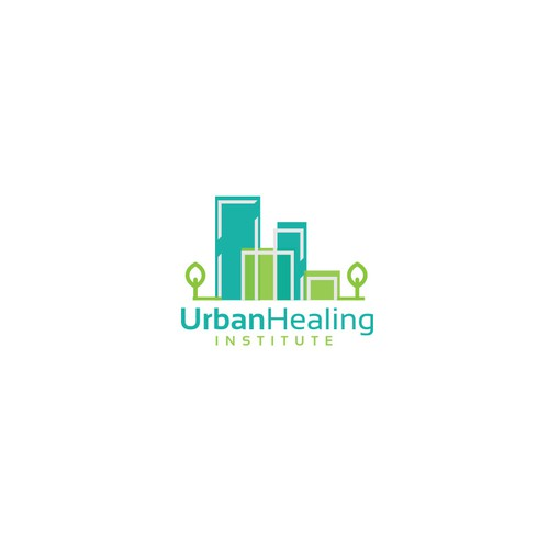logo design concept for eco-urban developers