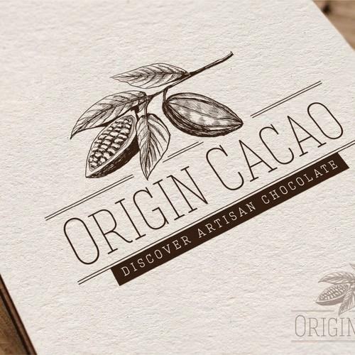 Create the next logo for Origin Cacao