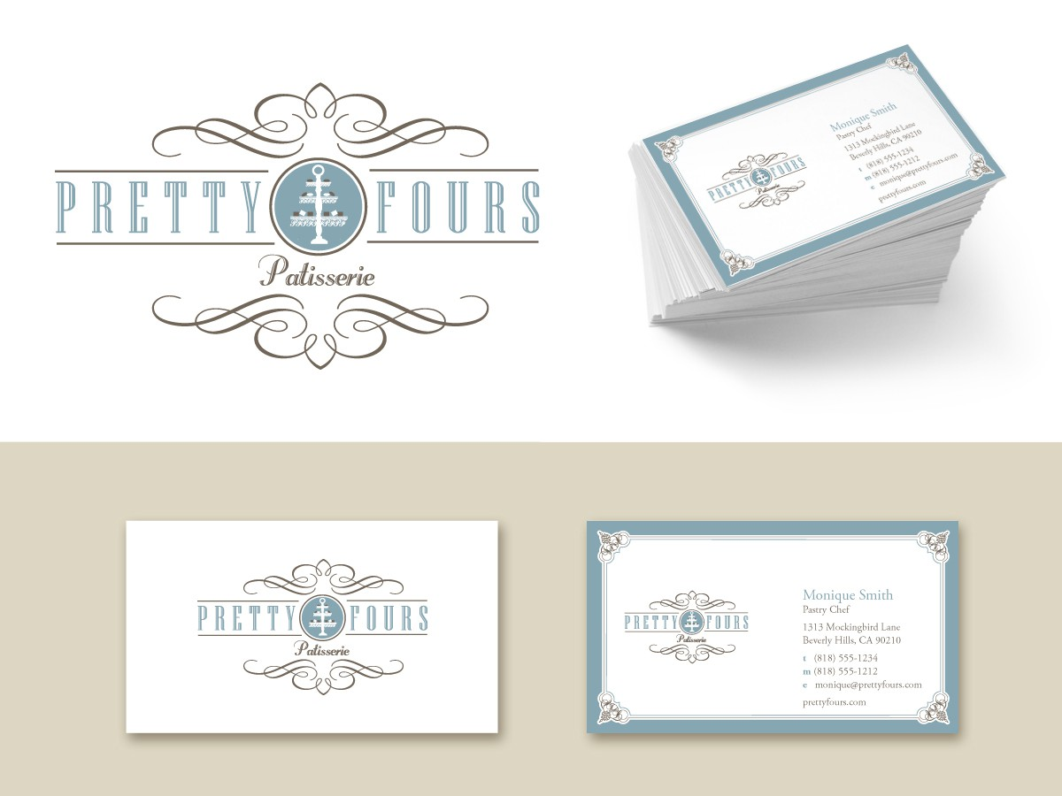 Help Pretty-Fours with a new logo and business card