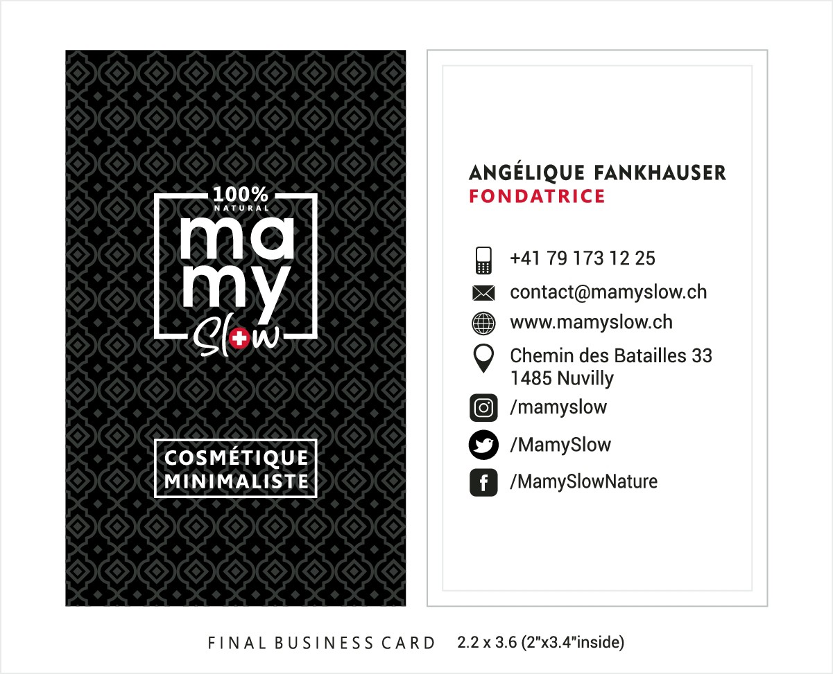 Business card for MamySlow