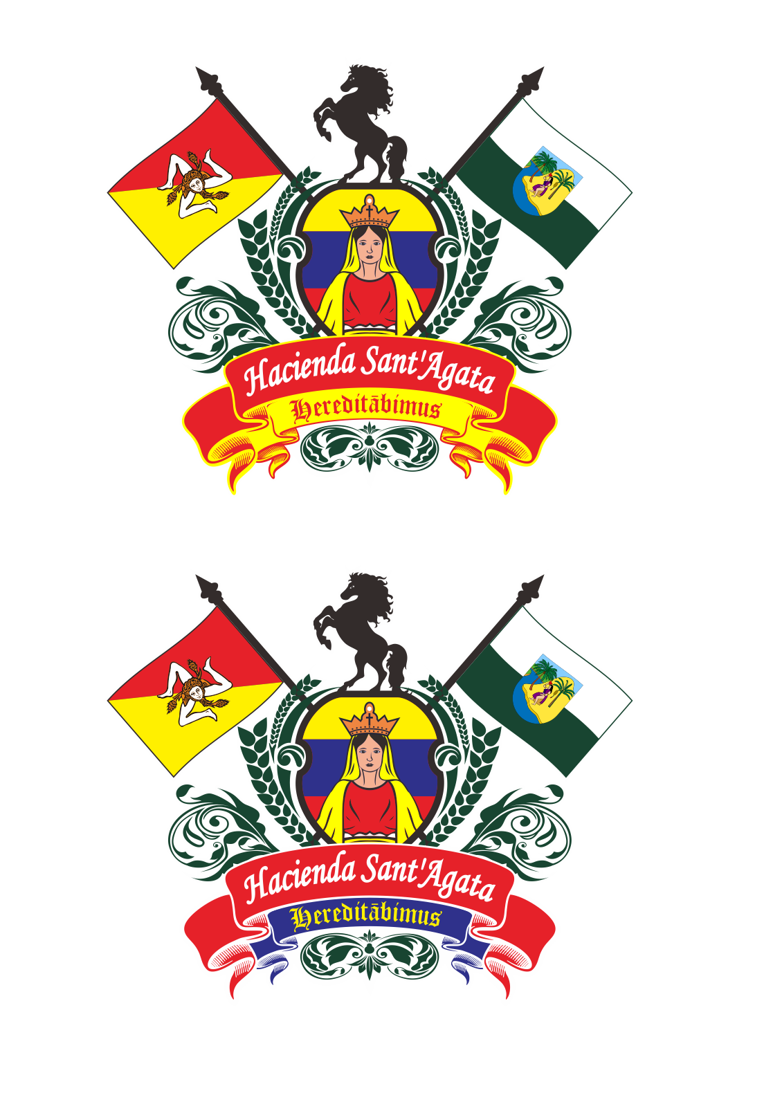 Design the Coat of Arms for an Exclusive Estate