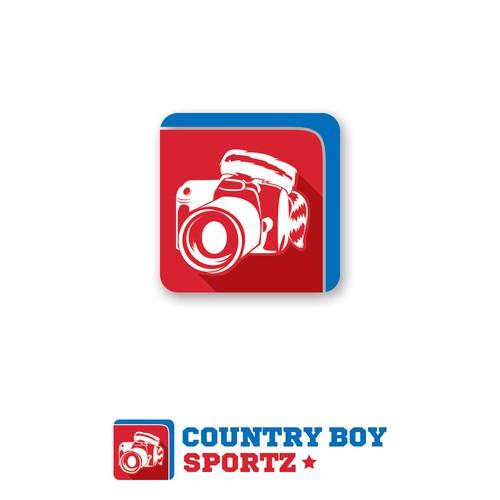 Country Boy Sportz Logo Design