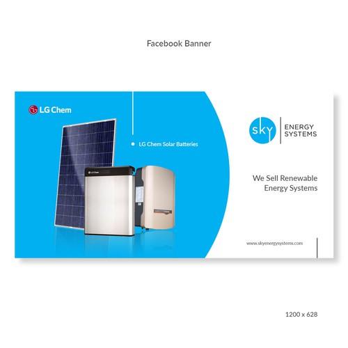 Facebook Ad Banner - Sky Energy