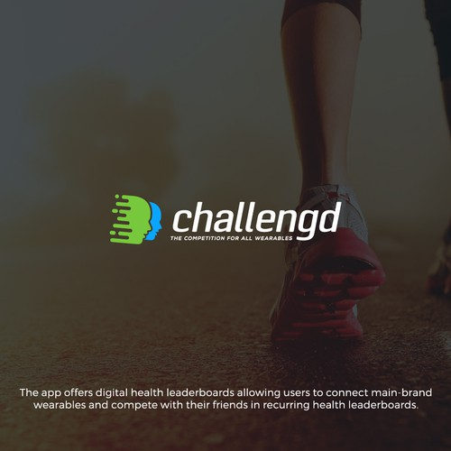 Dynamic logo for challenging app.