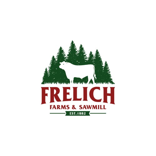 Frelich farms and sawmill