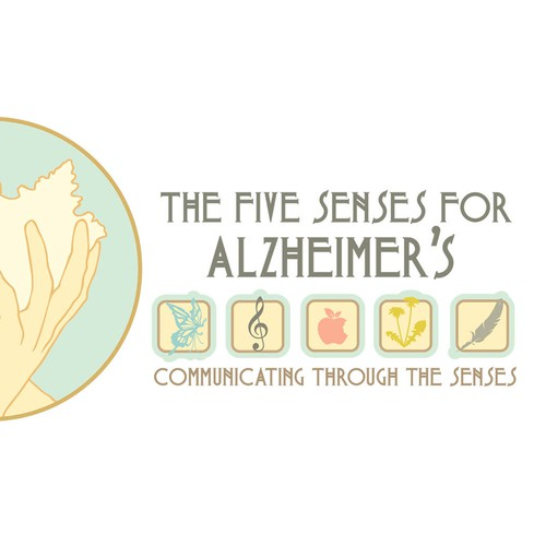 Help The Five Senses for Alzheimer's with a new logo