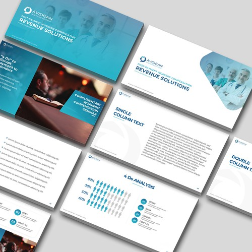 Powerpoint Template Design - Contest Winner