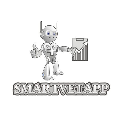 Mascot Logo Design For SmartvetApp