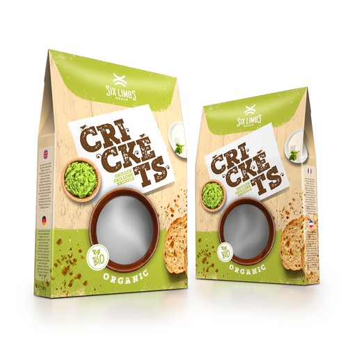 Packaging for cricket food