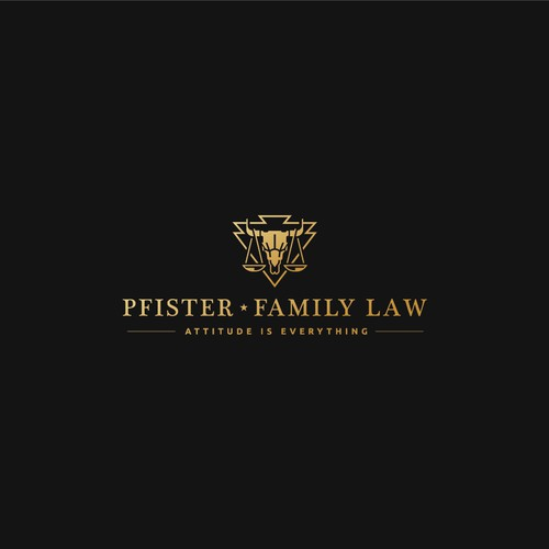 Powerful mark for a attorney & law office