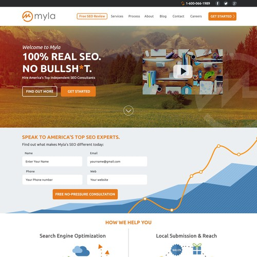 Myla website