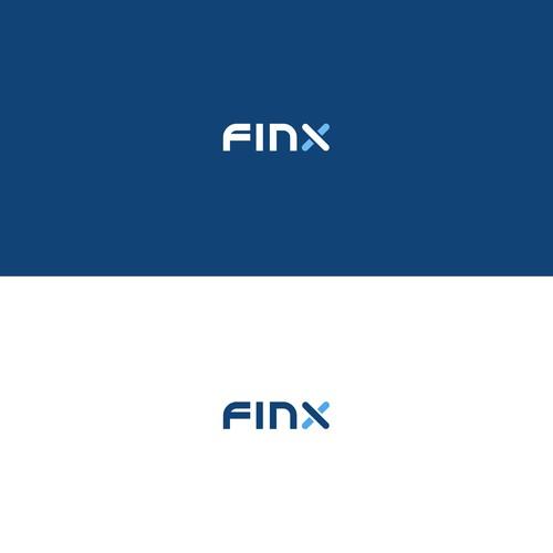 FinX logo design