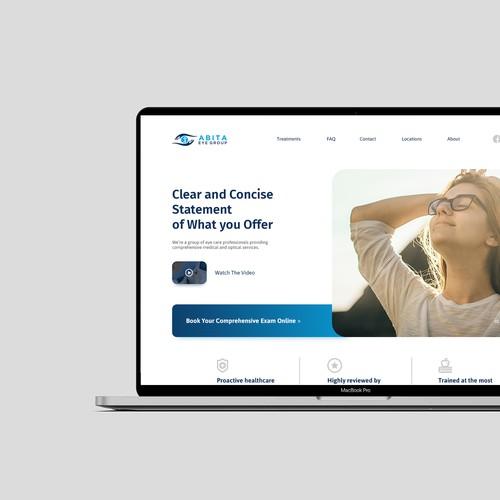 Eye Clinic Website Design