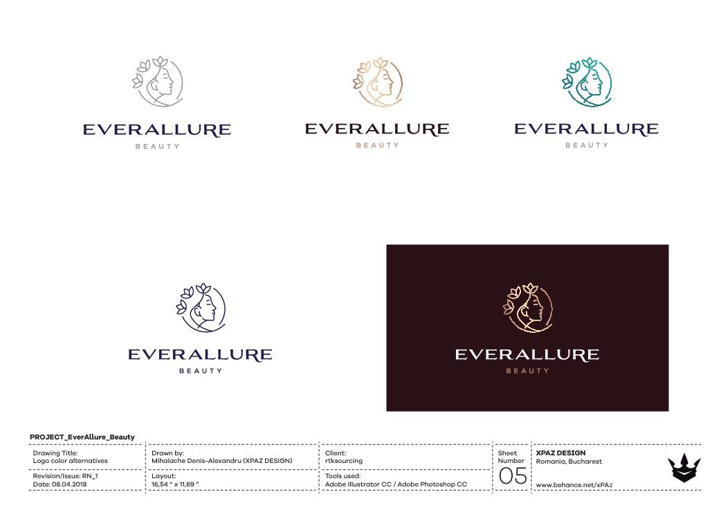 Design a timeless logo for EverAllure