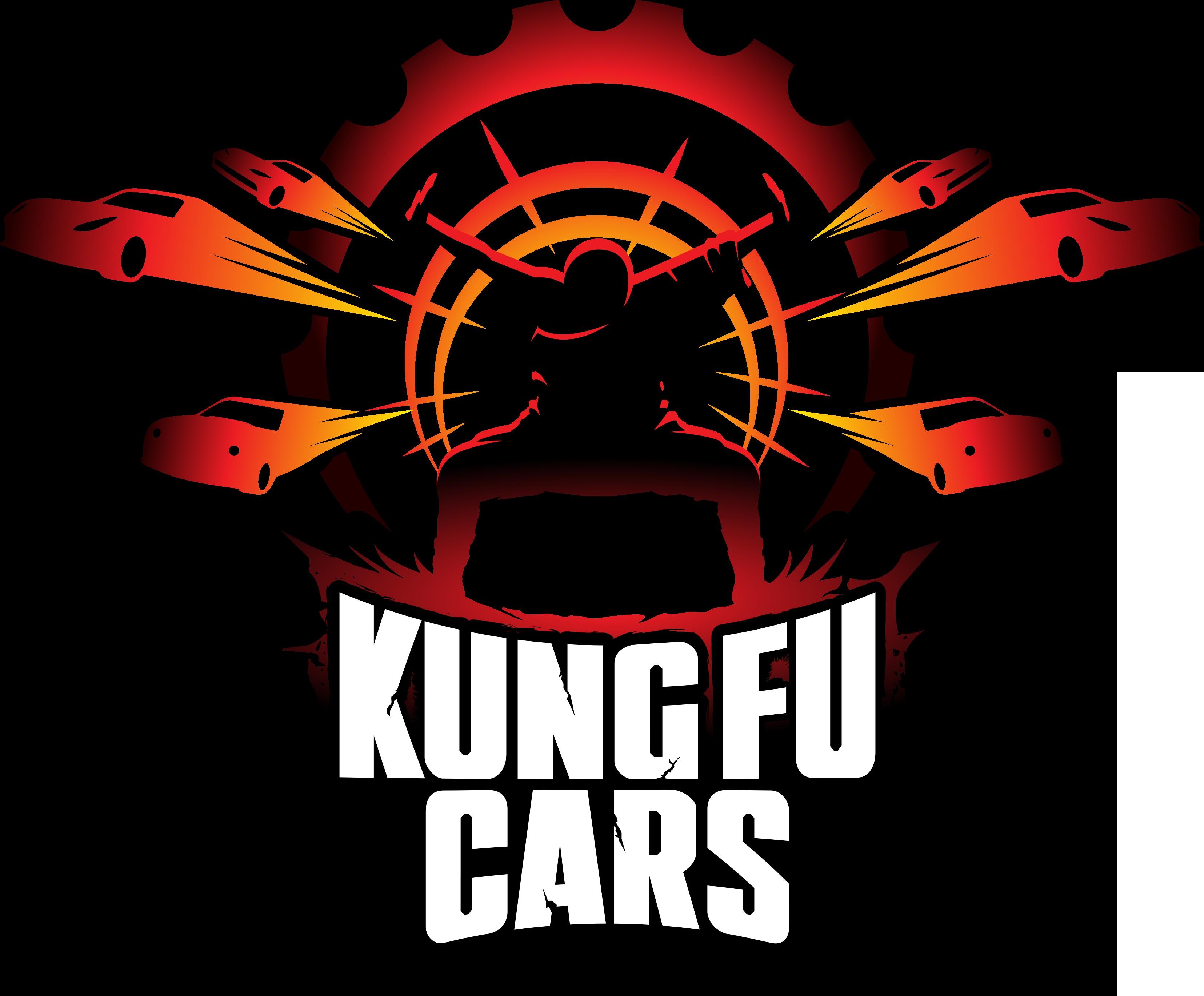 Kung Fu Cars - Epic Logo Design