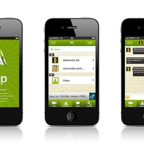 P Messenger needs a new app design