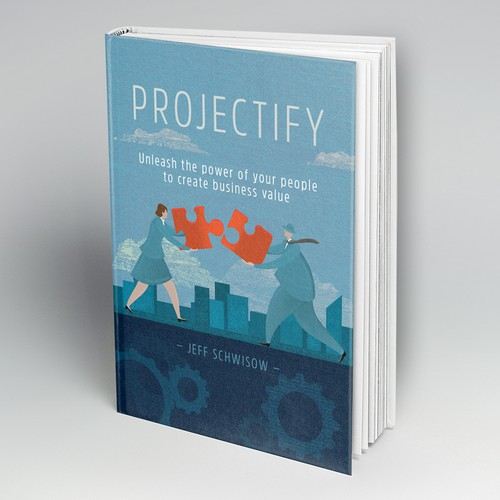 Projectify - book cover design contest