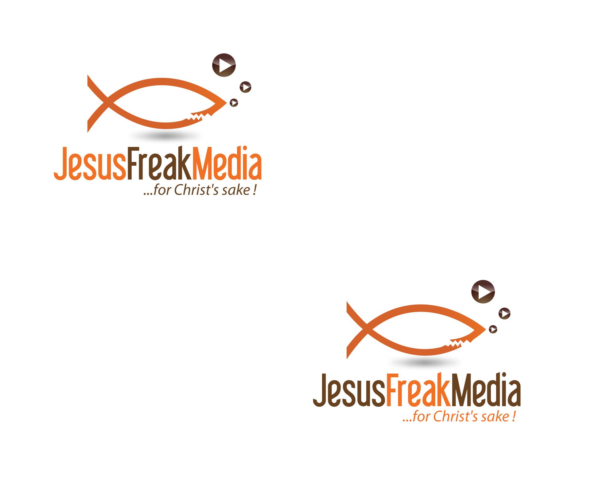 Help Jesus Freak Media  (for Christ's sake) with a new logo