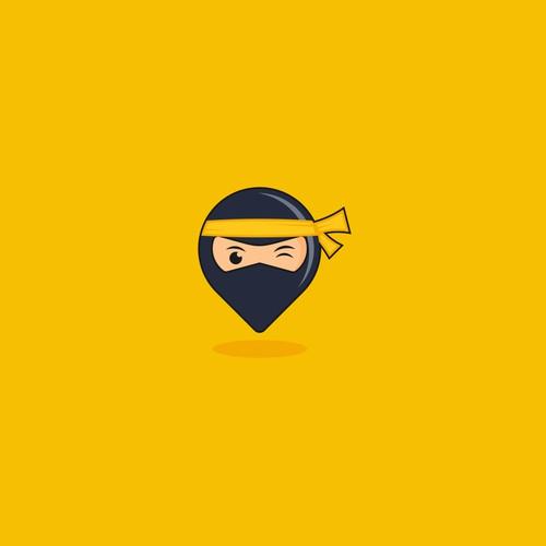 Travel Ninjaz logo design