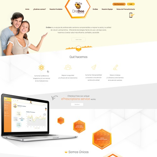 Web Design for Drs Bee