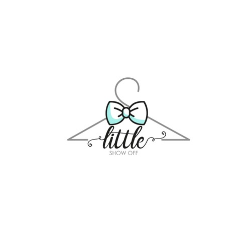 Logo for a baby clothing business