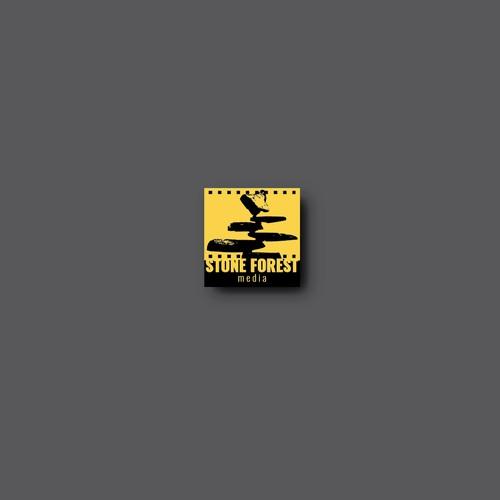 Logo design for Stone forest media.