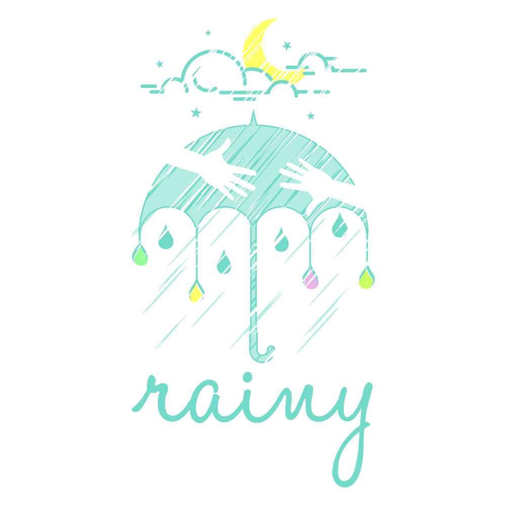 人を受け入れる柔らかさと強さを持ったrainyの企業ロゴをお願いします