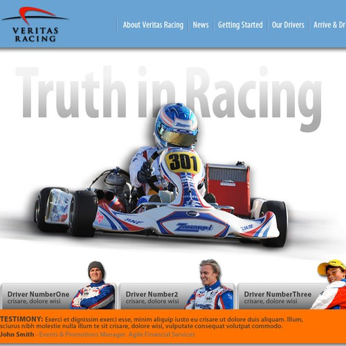 Kart Racing Team Needs Your Brillant Talent.