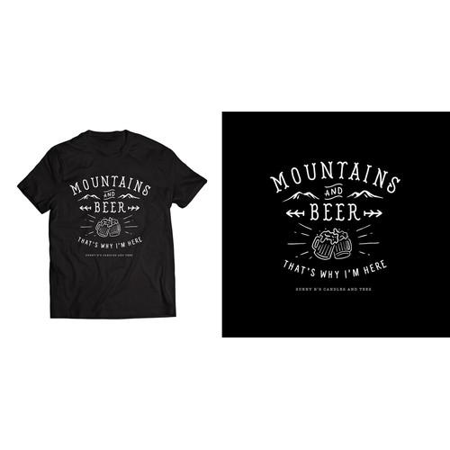 Outdoor Apparel T-Shirt design