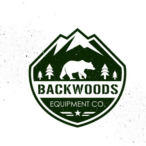 Create an simplistic/clean logo for an outdoor gear company 'BACKWOODS EQUIPMENT CO.'