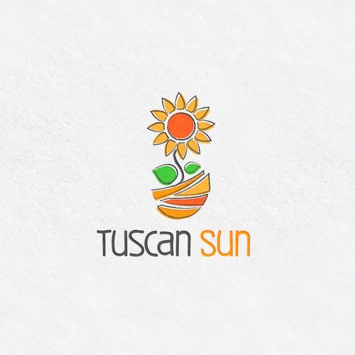 Tuscan Sun Logo Design